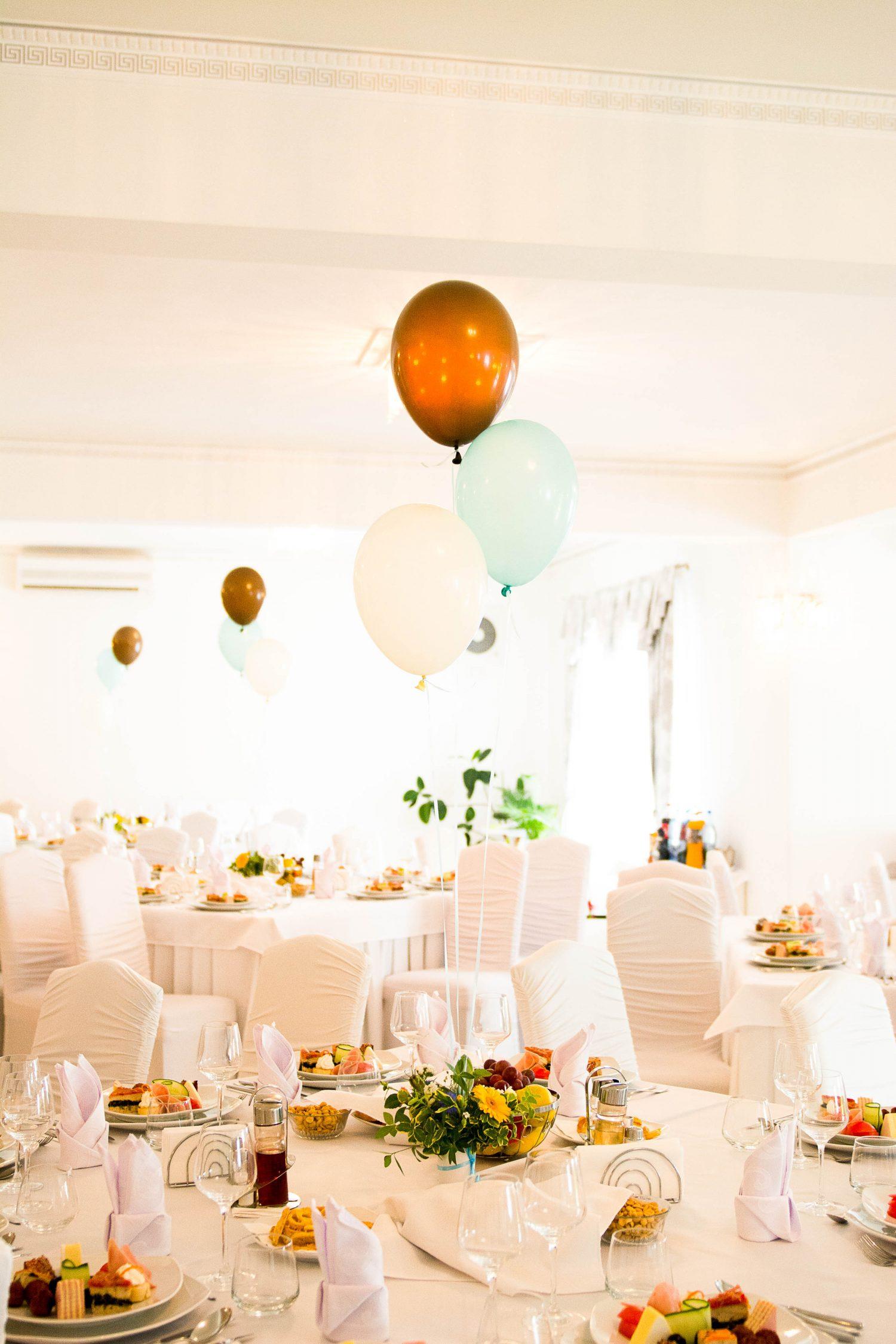 Decor sala botez restaurant Equinoxe Royal Reghin