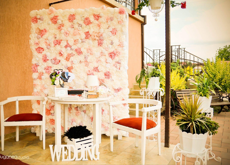 Decor photo corner nunta restaurant Equinoxe Royal Reghin
