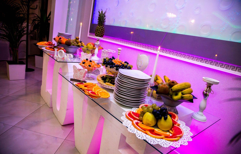 Bar fructe evenimente restaurant Equinoxe Royal Reghin