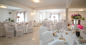 Decor sala eveniment restaurant Equinoxe Royal Reghin